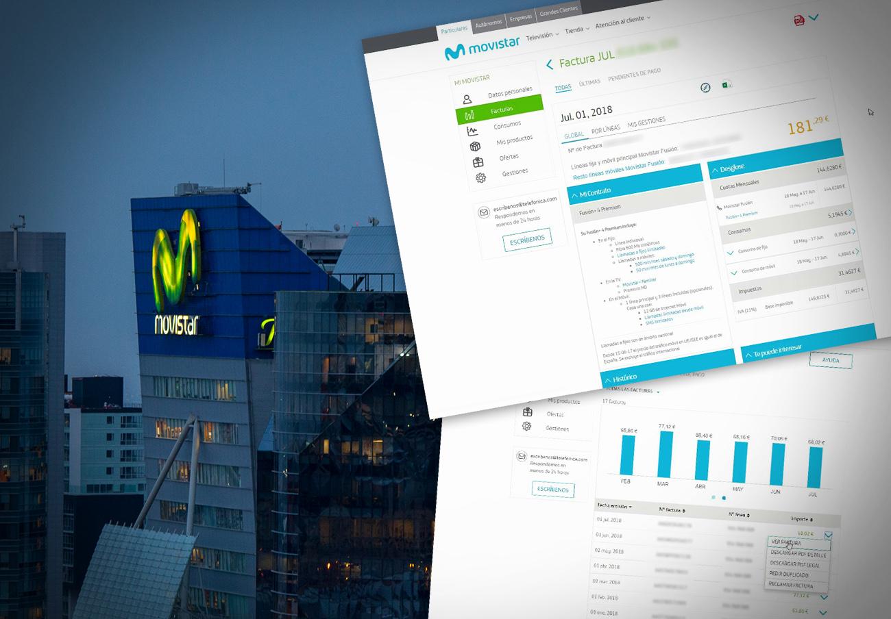 FACUA insta a Movistar a informar a todos sus clientes del agujero de seguridad que expuso sus datos