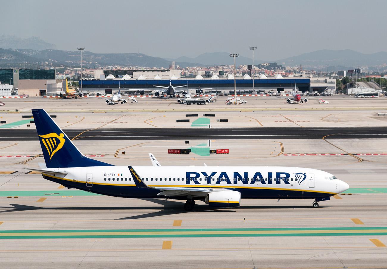 El 'cierre' de la web de Ryanair durante 12 horas podría vulnerar la ley de consumo, denuncia FACUA