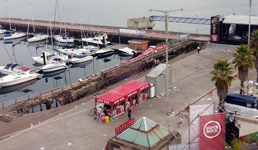 FACUA exige que se depuren responsabilidades tras el desplome del muelle del puerto en Vigo