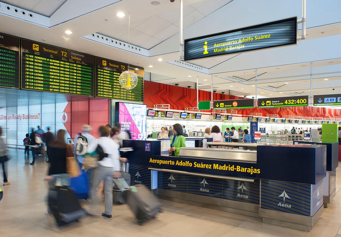 FACUA insta a los afectados por la huelga de Seguridad en el aeropuerto de Barajas a reclamar ante Aena