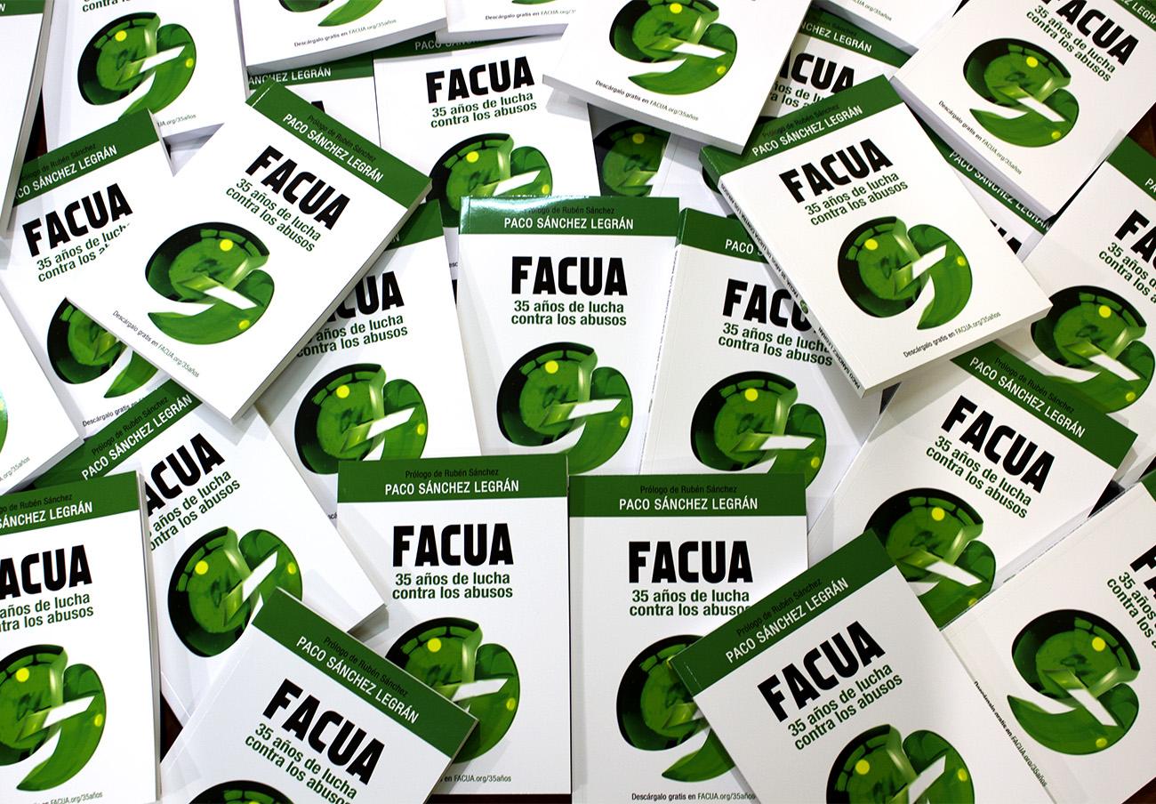El libro sobre la historia de FACUA supera las 5.000 descargas dos semanas después de su lanzamiento