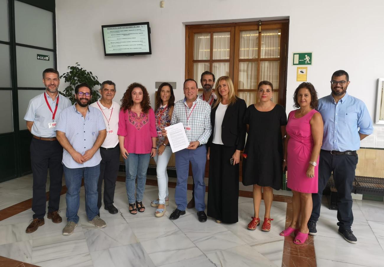 El Ayuntamiento de Puente Genil apoya la PNL de Aparcamientos Reina Sofía sobre la gratuidad de los párkings
