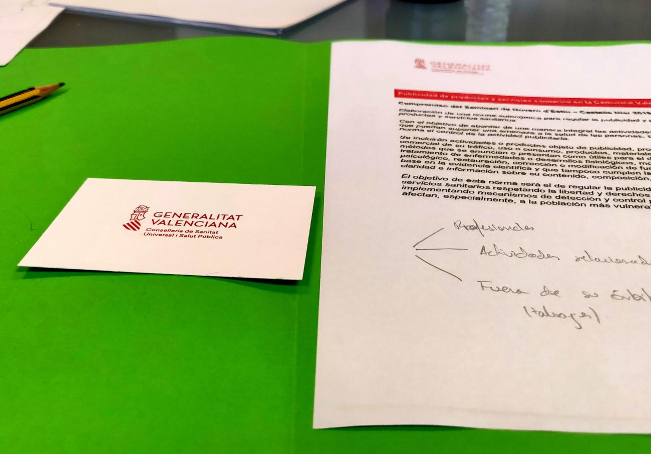 FACUA Comunidad Valenciana pide un mayor control sobre la publicidad de servicios sanitarios