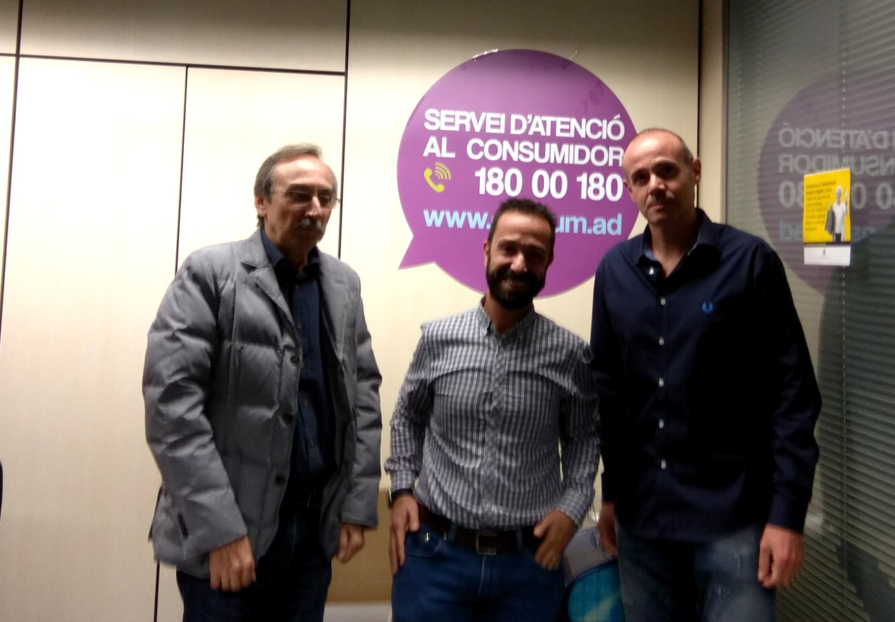 FACUA Catalunya se reúne con la Unidad de Comercio y Consumo del Gobierno de Andorra
