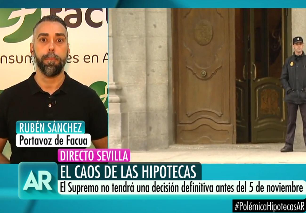 """Rubén Sánchez: """"Si ibas a firmar una hipoteca y rechazas la oferta vinculante, la próxima será más cara"""""""