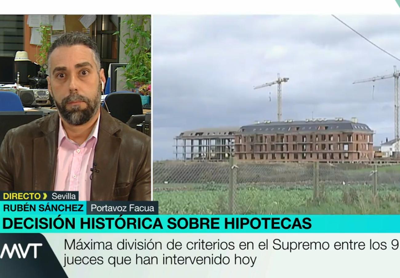 "Rubén Sánchez: ""El mercado hipotecario está plagado de fraudes"""