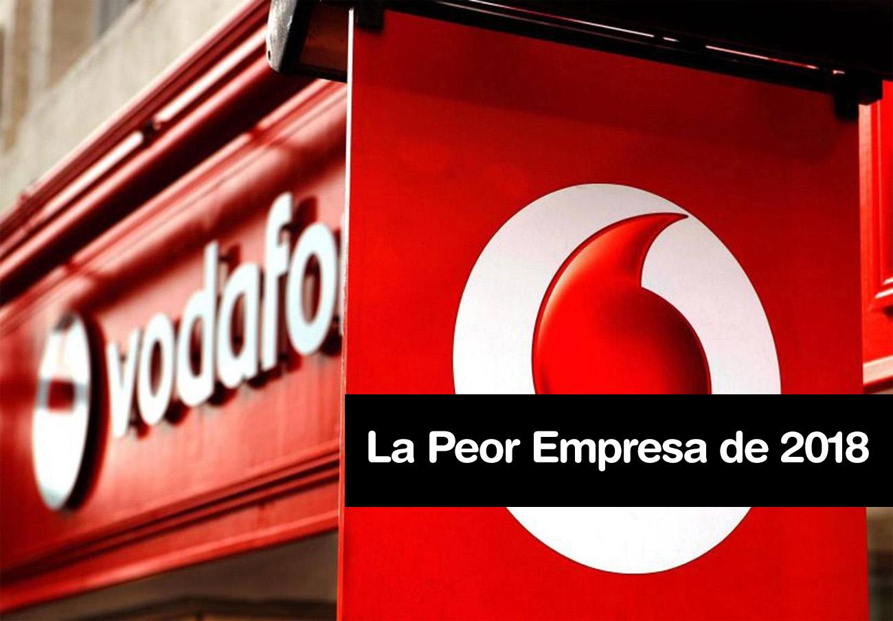 Vodafone, elegida por los consumidores como La Peor Empresa del Año