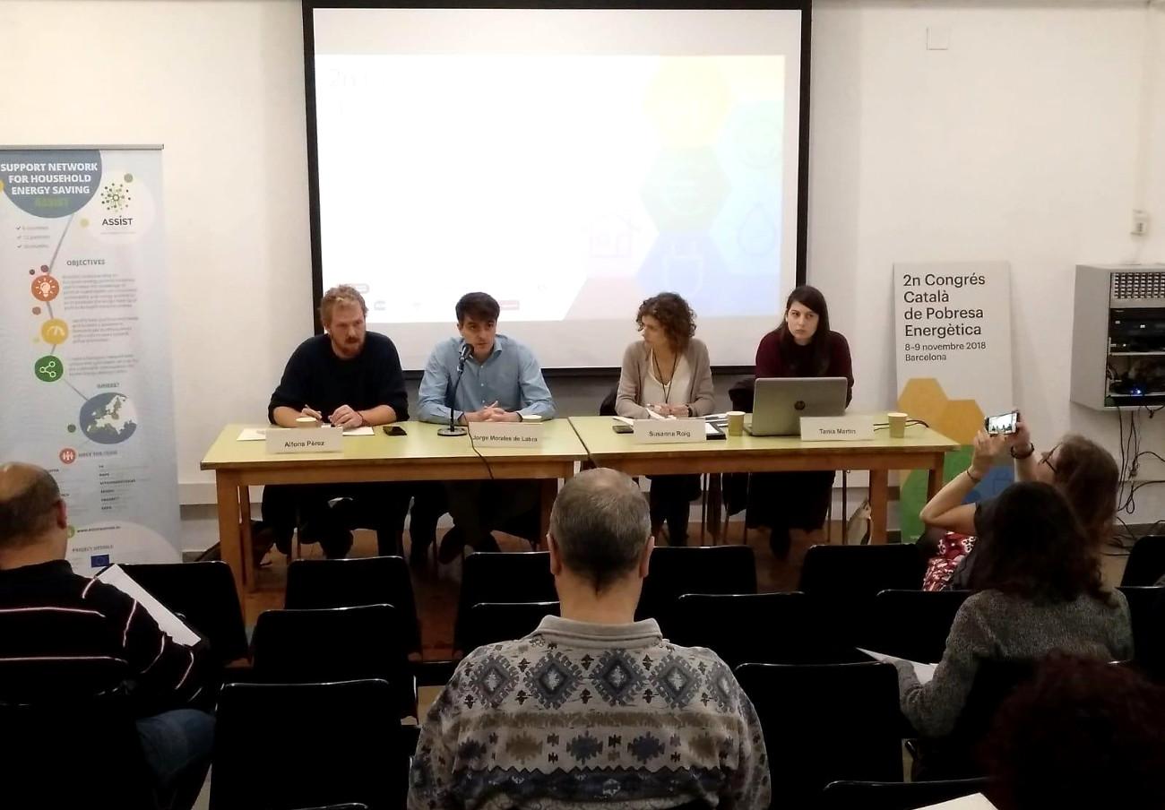 FACUA Catalunya participa en el 2º Congreso Catalán de Pobreza Energética