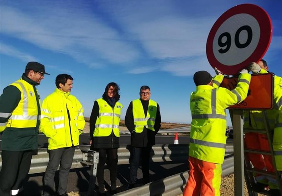 Entra en vigor la reducción de velocidad a 90 km/h en carreteras convencionales