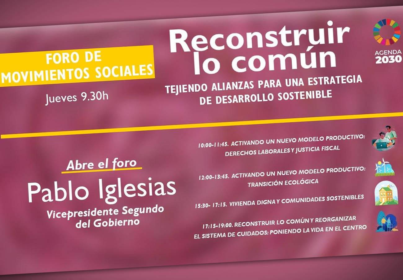 FACUA participa en el Foro de Movimientos Sociales para trasladar sus reivindicaciones sobre vivienda