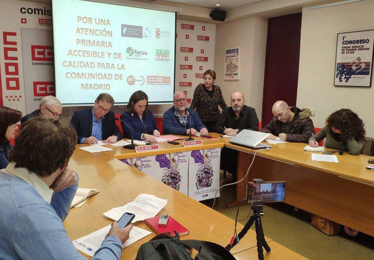 FACUA Madrid rechaza la reducción del horario de atención primaria en centros de salud de la Comunidad