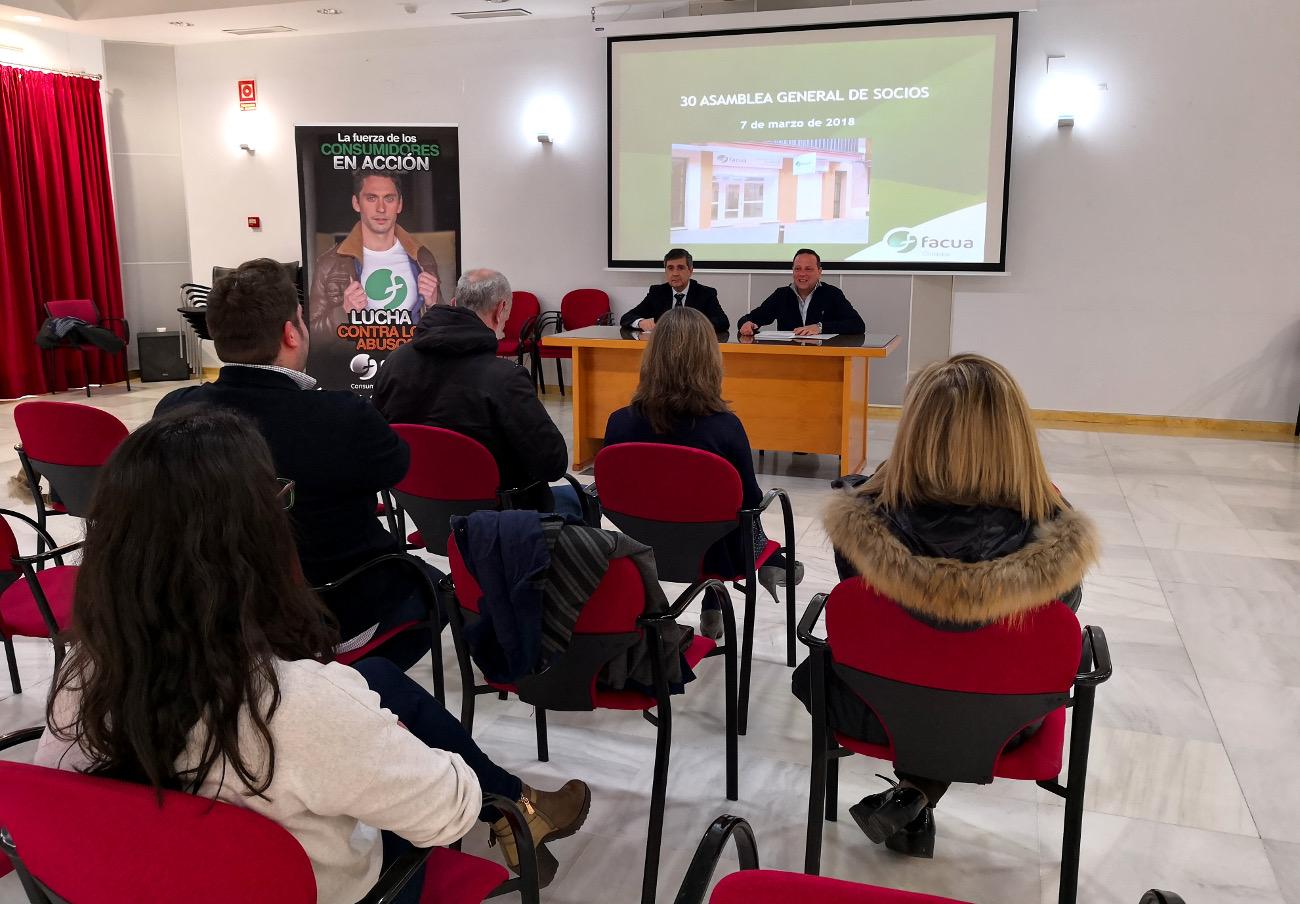 FACUA Córdoba celebra su 31ª Asamblea General de Socios