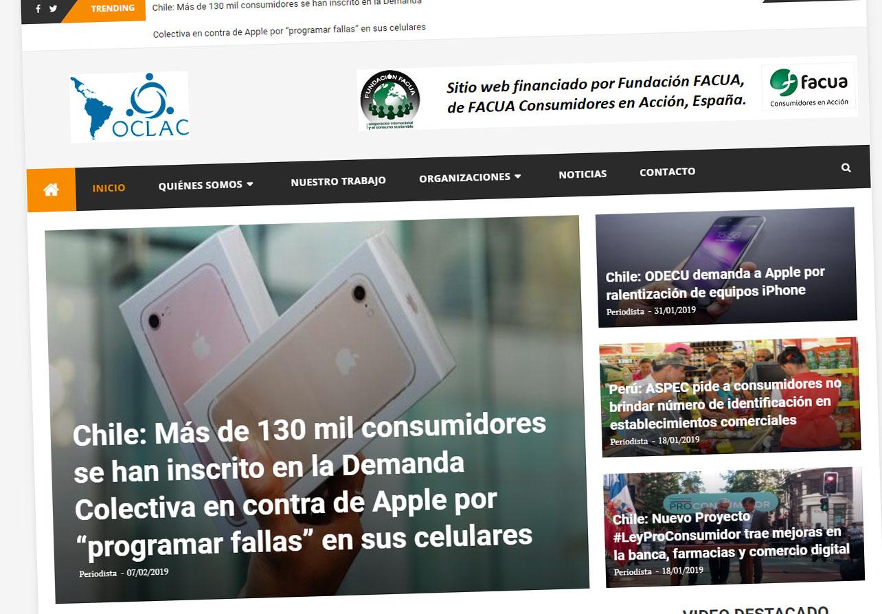 Programa de cooperación con el Consejo Latinoamericano y del Caribe de Organizaciones de Consumidores