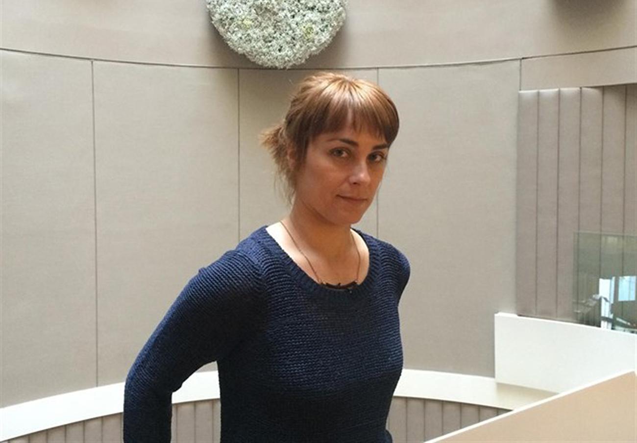 La escritora sevillana Sara Mesa. | Imagen: Europa Press).