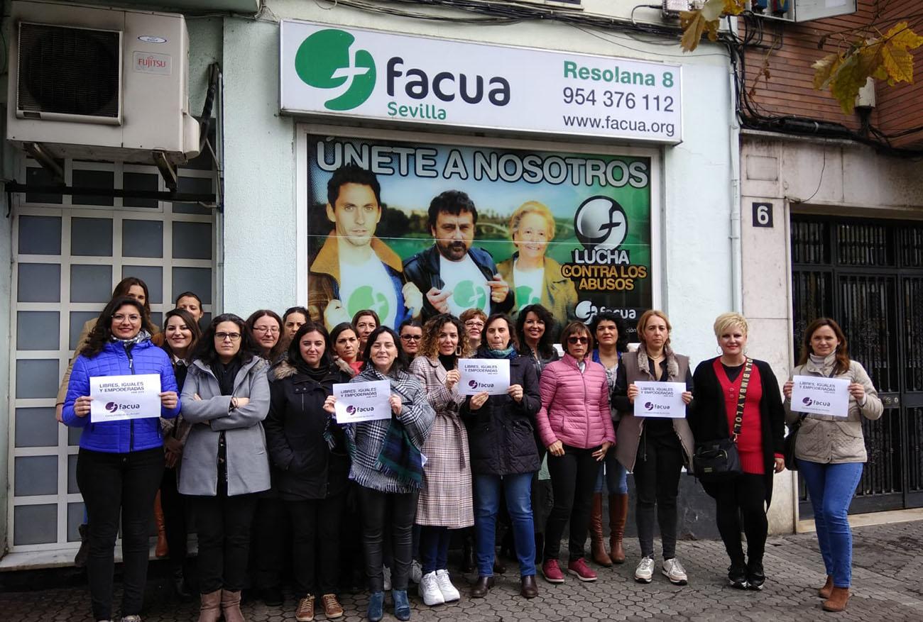 """""""Libres, iguales y empoderadas"""", las Consumidoras en Acción de FACUA se movilizan en toda España el #8M"""