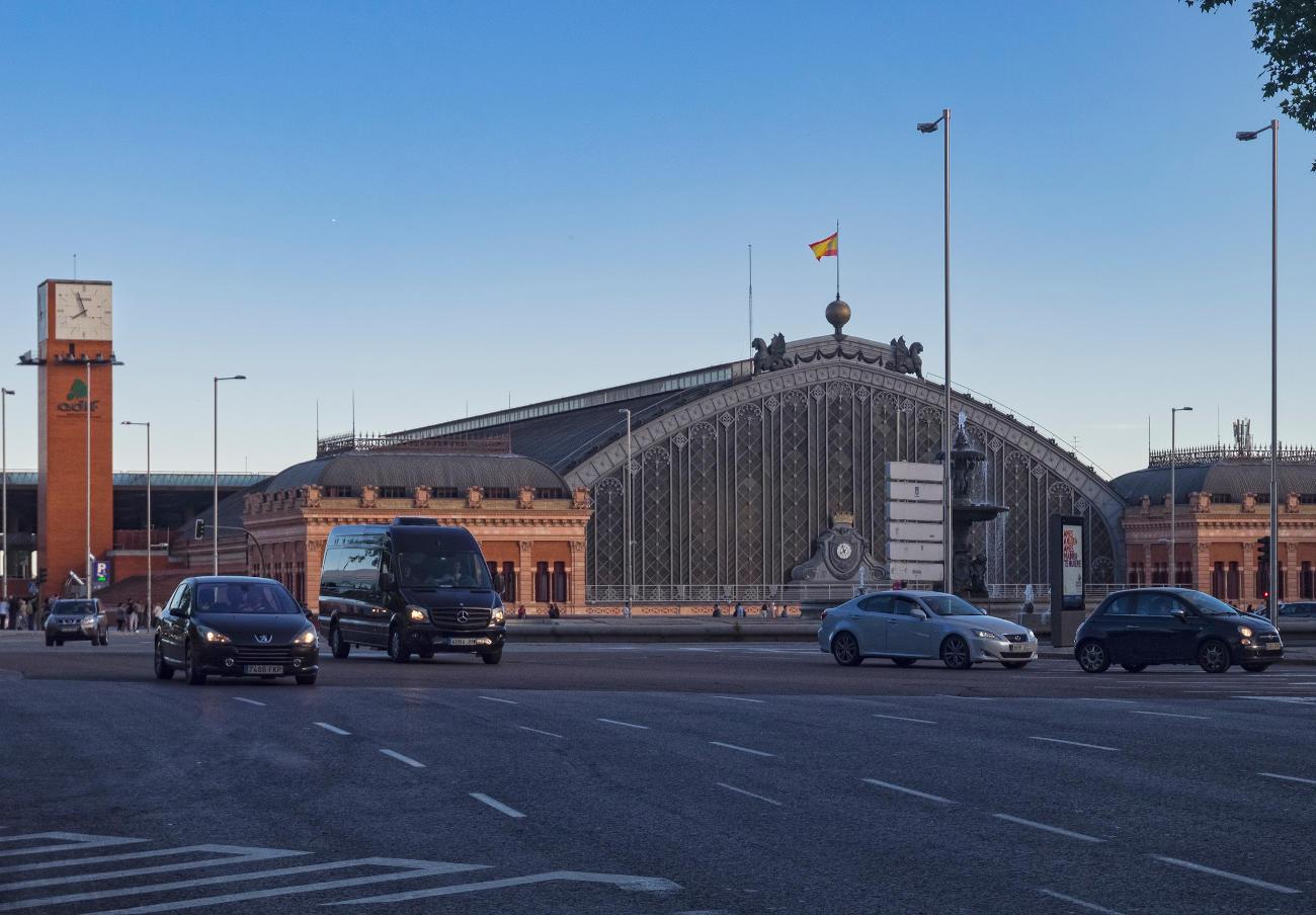 FACUA Madrid denuncia las altas temperaturas que se alcanzan en la estación de AVE de Puerta de Atocha