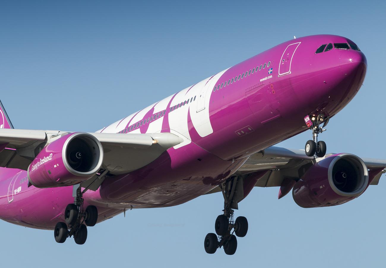 La aerolínea islandesa Wow Air quiebra y cancela todos sus vuelos
