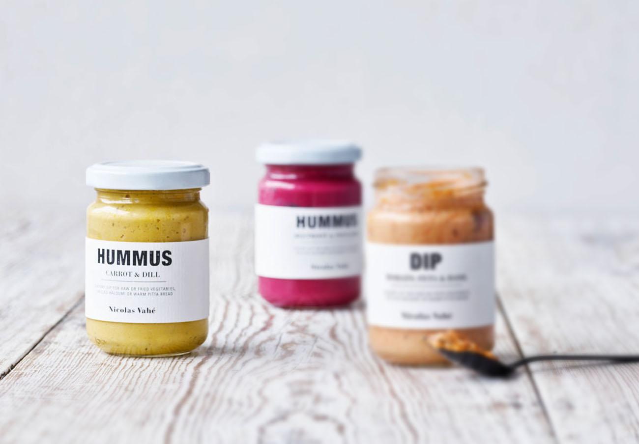 Detectan sésamo no declarado en dos lotes de hummus de la marca danesa Nicolas Vahé, alerta FACUA