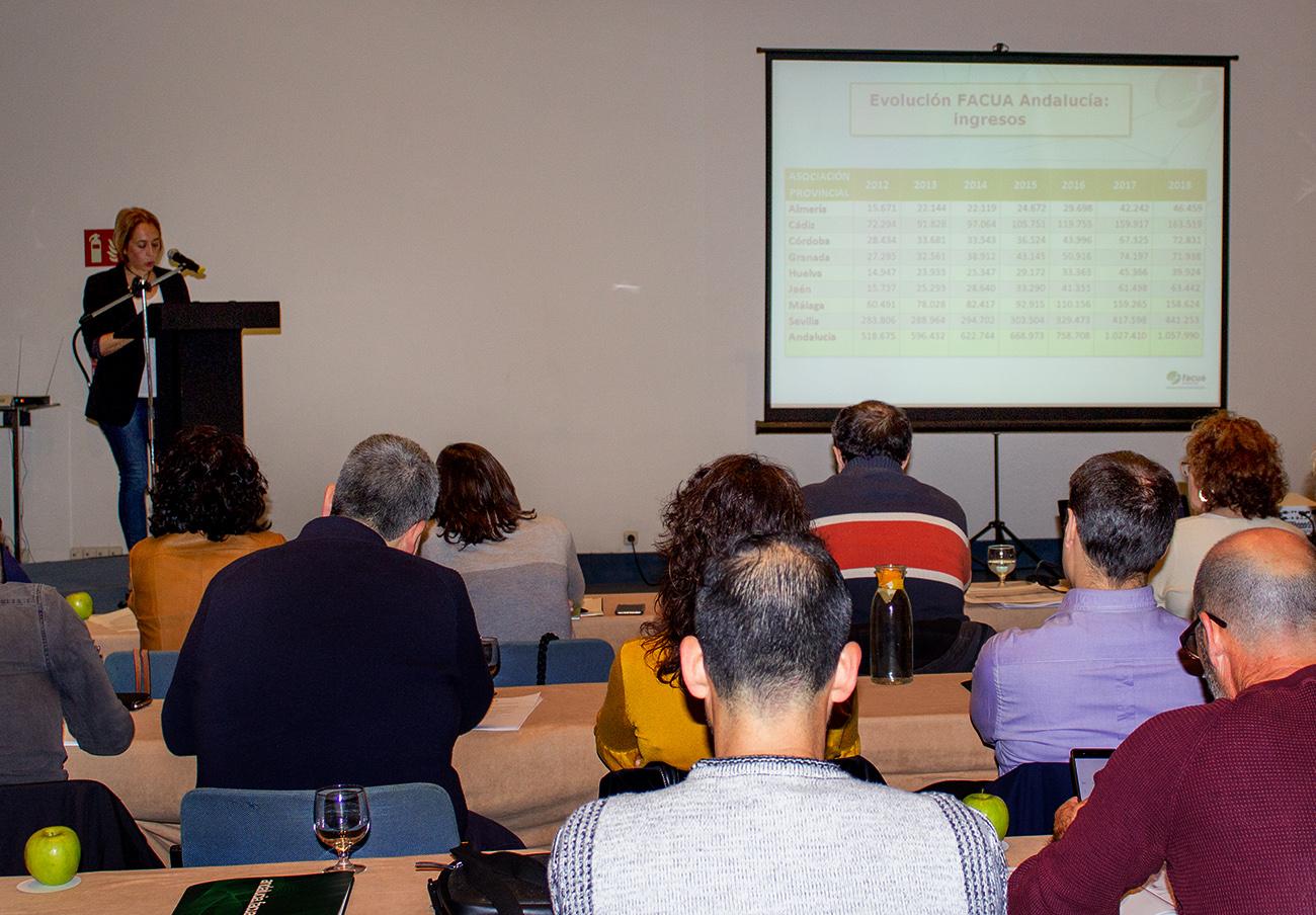 FACUA Andalucía celebra su 29ª Asamblea General
