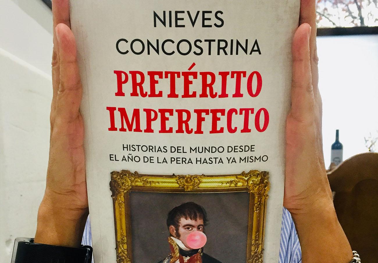 Portada del libro 'Pretérito imperfecto', de Nieves Concostrina. | Imagen: Jesús Pozo.