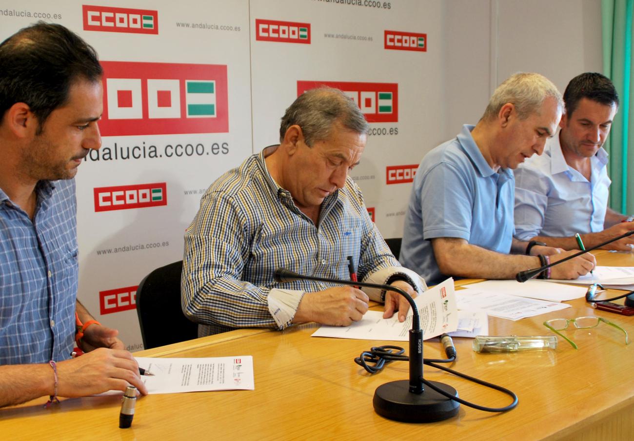 FACUA Andalucía, CCOO, UGT y Al-Andalus advierten de los peligros de una desregulación comercial total