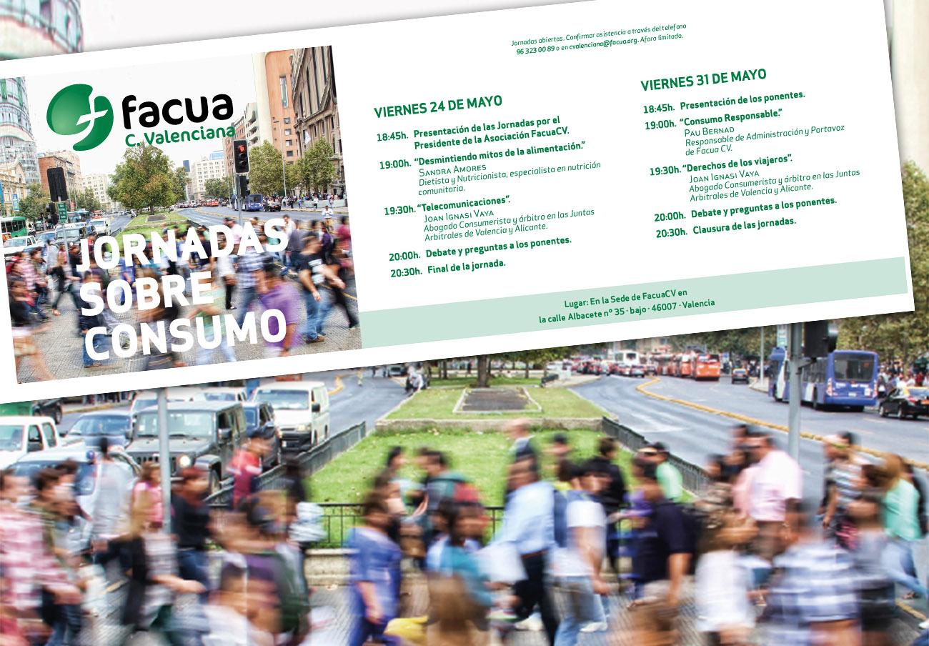 FACUA Comunidad Valenciana celebra unas jornadas sobre distintos aspectos relacionados con el consumo