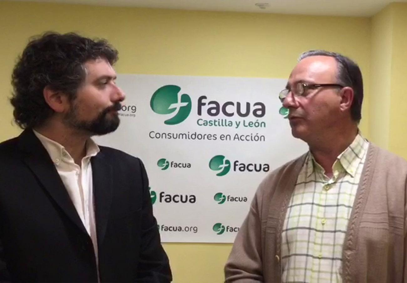 FACUA Castilla y León se reúne con Izquierda Unida para trasladarles sus propuestas de Consumo