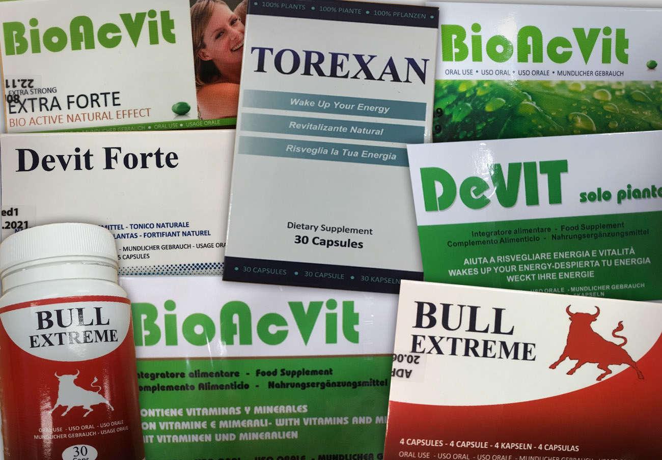 Sanidad ordena retirar seis complementos alimenticios por contener el principio activo de la Viagra