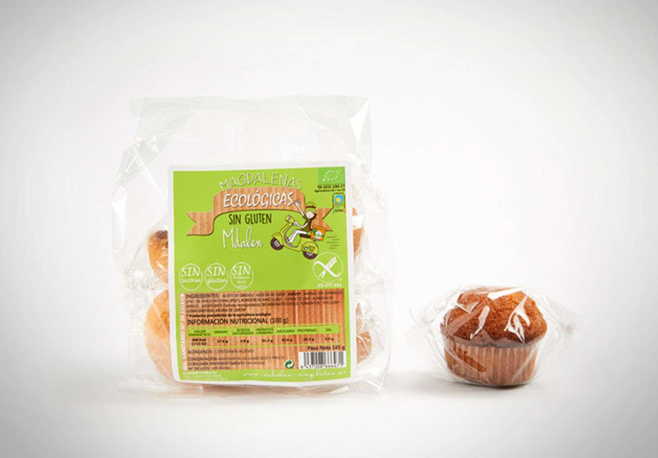 Magdalenas de Sol Natural y Mdalen están etiquetadas sin gluten pero sí lo tienen en sus ingredientes