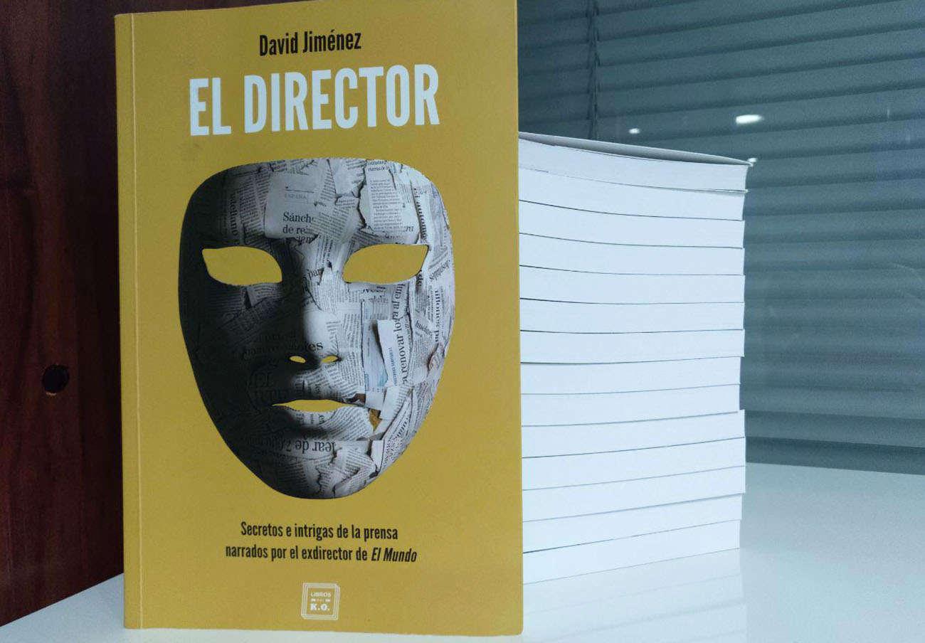 Ejemplares del libro de David Jiménez.