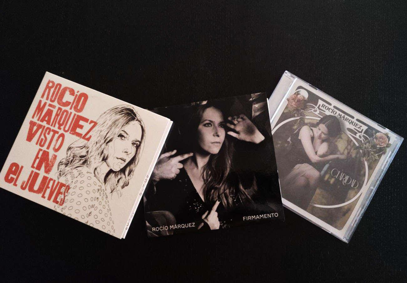 El último disco de Rocío Márquez, Visto en El Jueves. | Imagen: Ángeles Castellano.