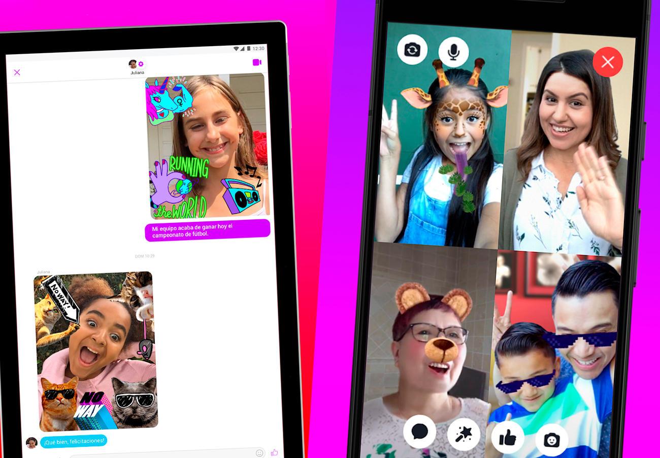 Un fallo en Messenger Kids permitía a los niños comunicarse con usuarios no aprobados en chats grupales