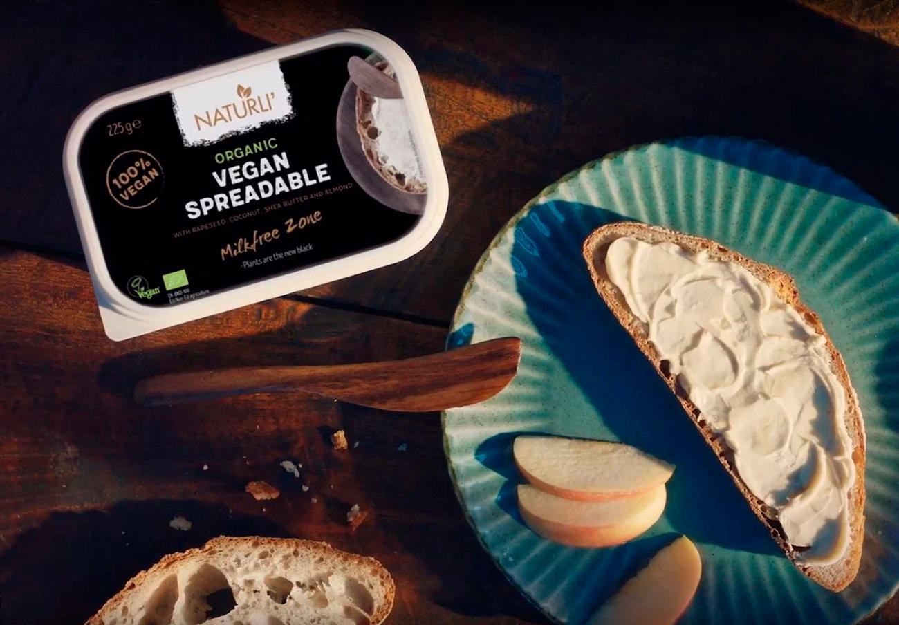 Detectan proteína láctea en una alternativa vegana, ecológica y sin leche a la mantequilla de Naturli