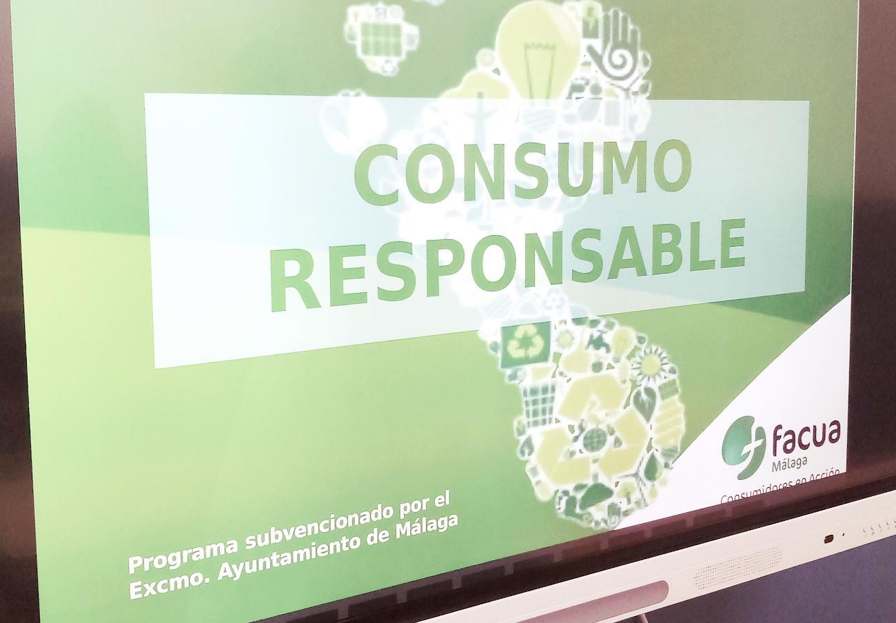 FACUA Málaga pone en marcha nuevos talleres de consumo responsable para estudiantes
