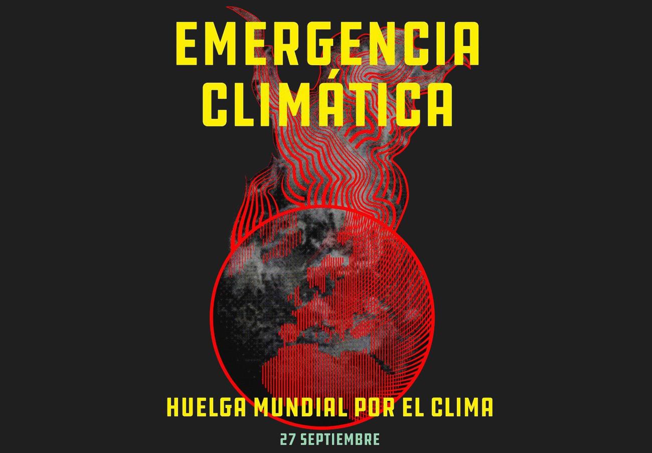 FACUA exige a los gobiernos que actúen ante la emergencia climática y se suma a la Huelga Mundial del 27S