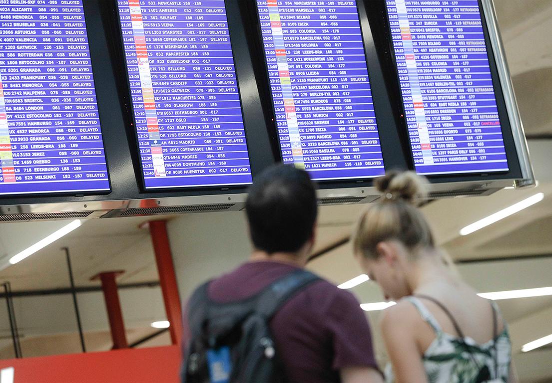 Sentència del 'procés': Els afectats per cancel·lacions poden reclamar a les aerolínies