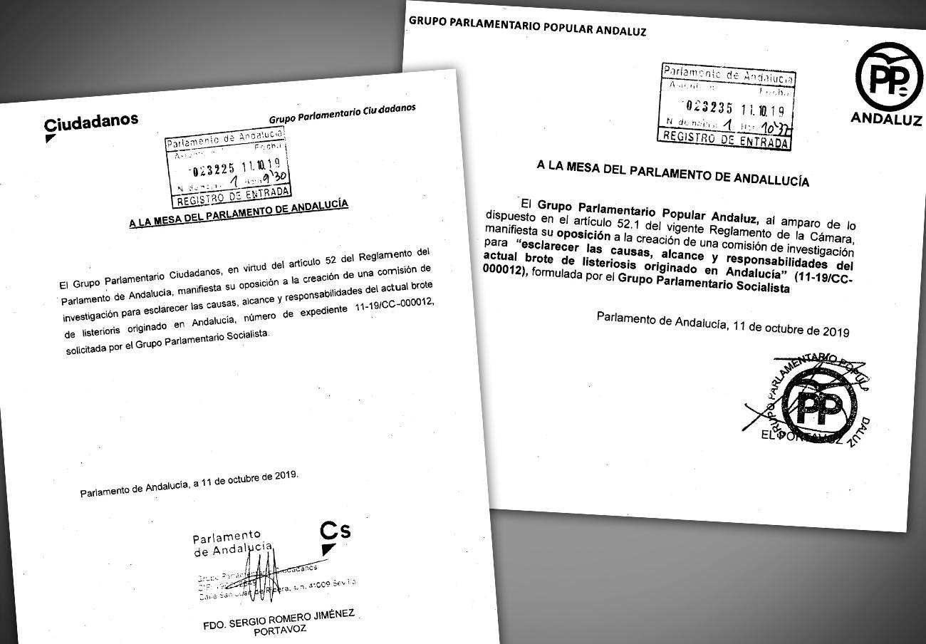 FACUA Andalucía ve clarificador que PP y Ciudadanos veten la comisión de investigación sobre la Listeria