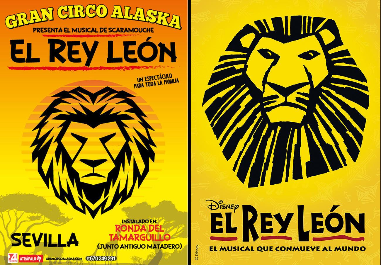 FACUA denuncia al Gran Circo Alaska por hacer creer que representa el musical 'El Rey León' de Disney