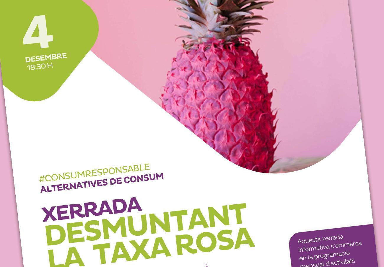 FACUA Catalunya participa en una charla informativa sobre la 'tasa rosa'