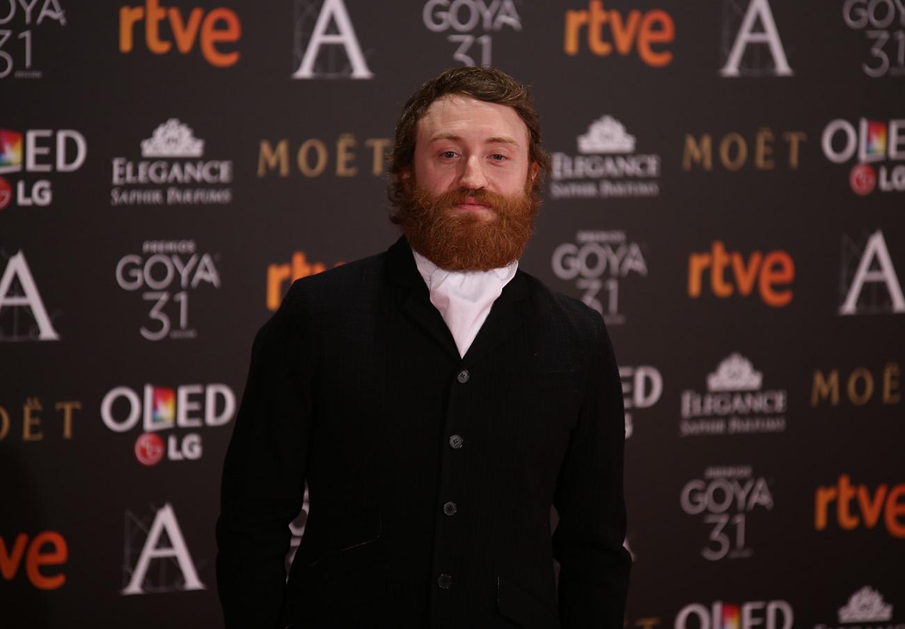 Manuel Burque estuvo nominado al Goya a Mejor Actor Revelación en 2017. | Imagen: Rubén Ortega, Wikipedia (CC-BY-SA).