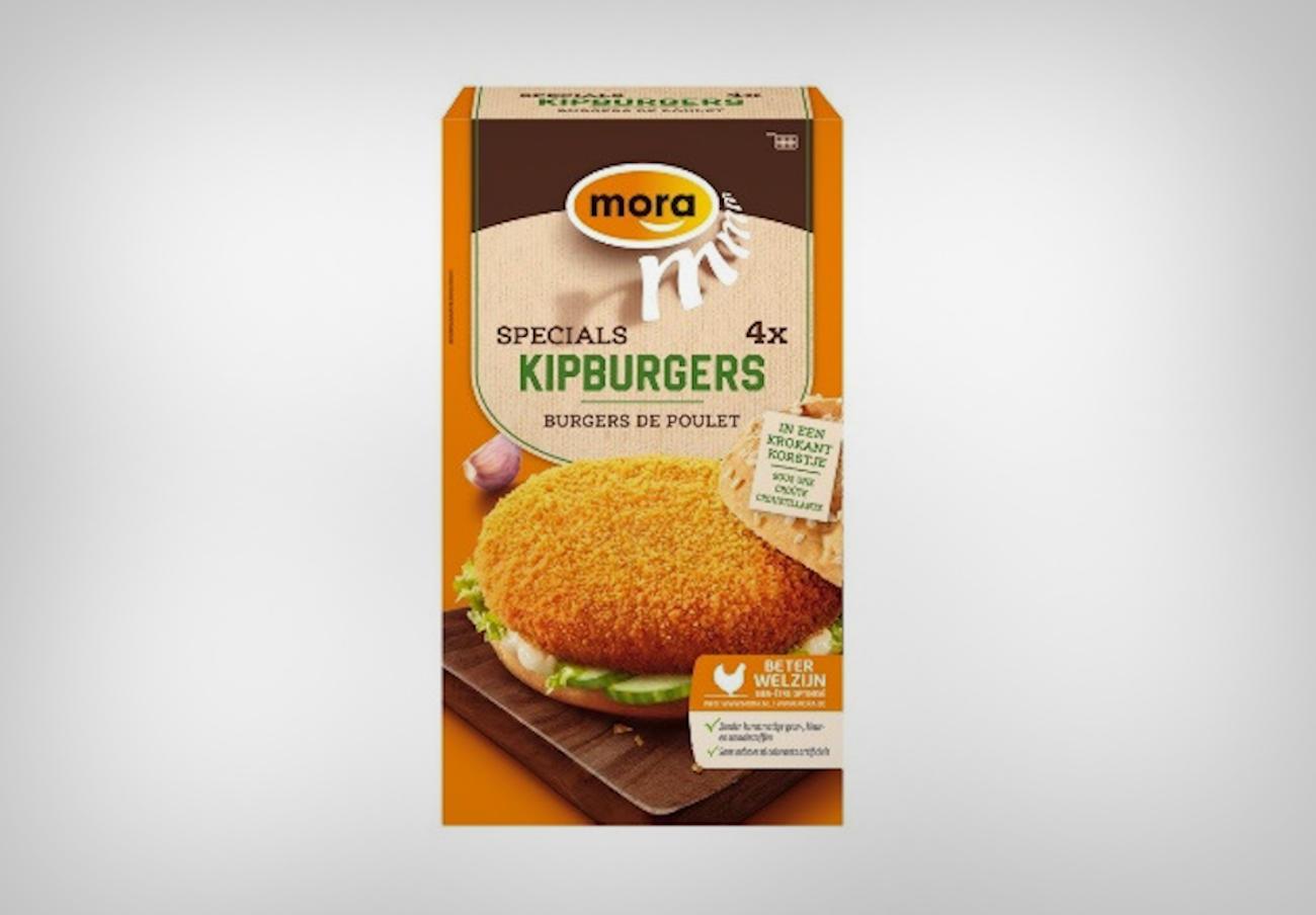 Alertan de la presencia de proteína láctea no declarada en hamburguesas de pollo congeladas marca Mora