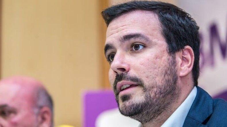 El ministro de Consumo, Alberto Garzón, tendrá las competencias de protección de los consumidores y juego