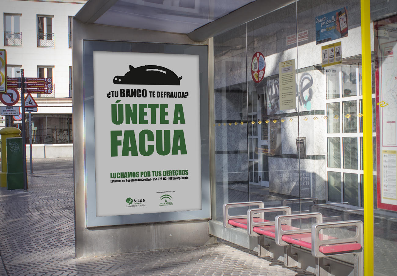 'Únete a FACUA. Luchamos por tus derechos': campaña en las calles de las ocho capitales andaluzas