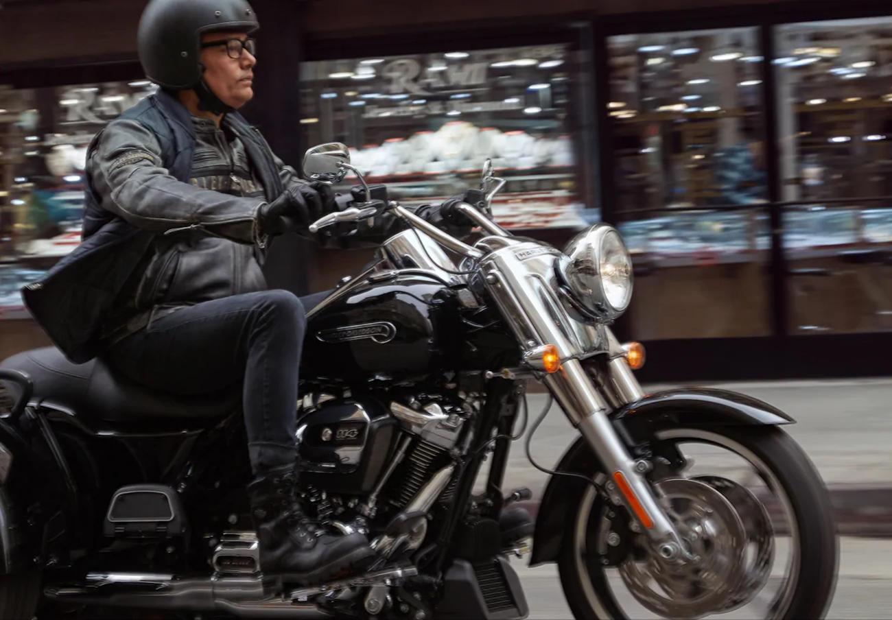 FACUA alerta de un error en el freno trasero de las Harley-Davidson Trike con control de tracción