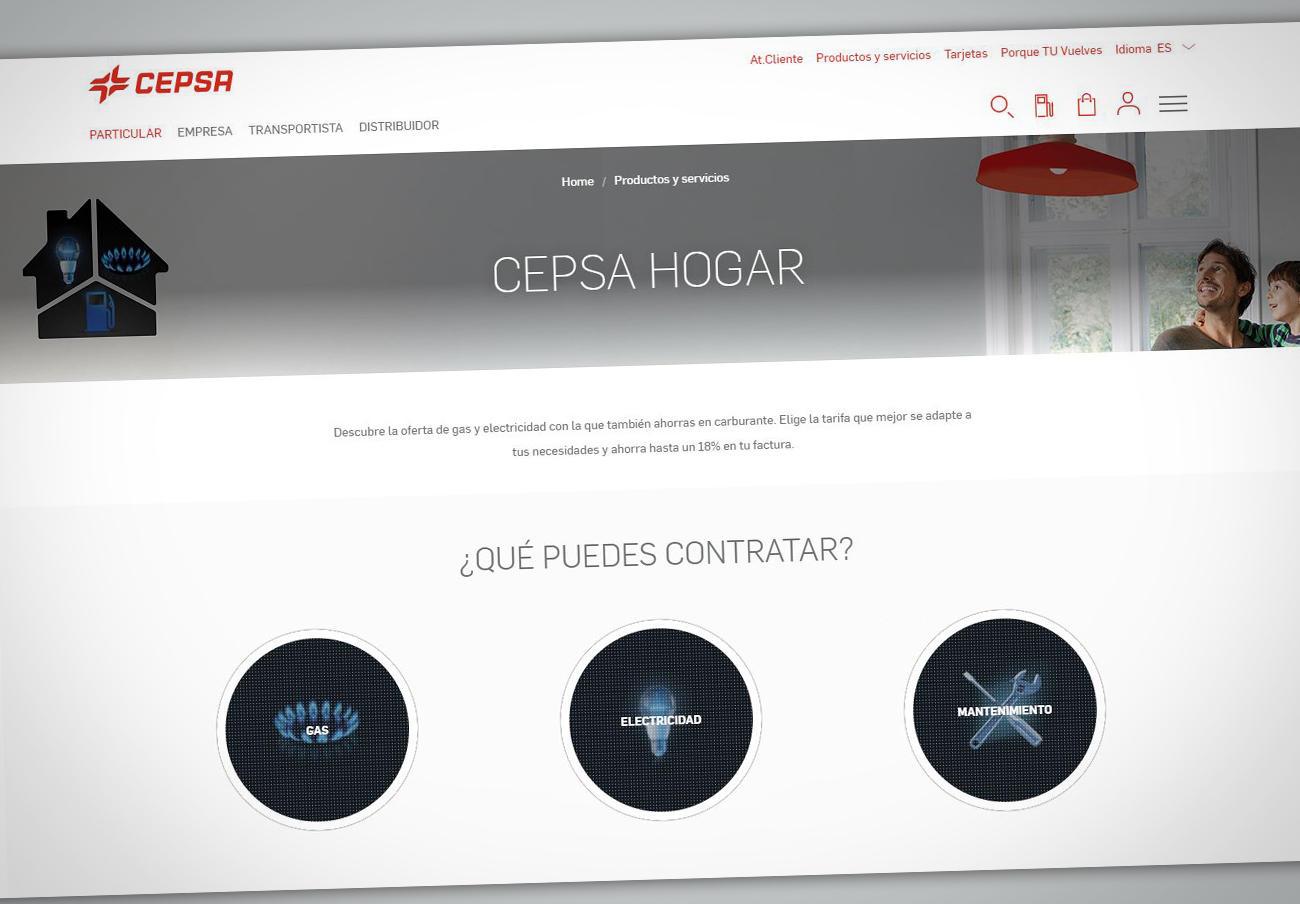 Tras las denuncias de FACUA, Cepsa corrige su publicidad de luz y gas para incluir los impuestos