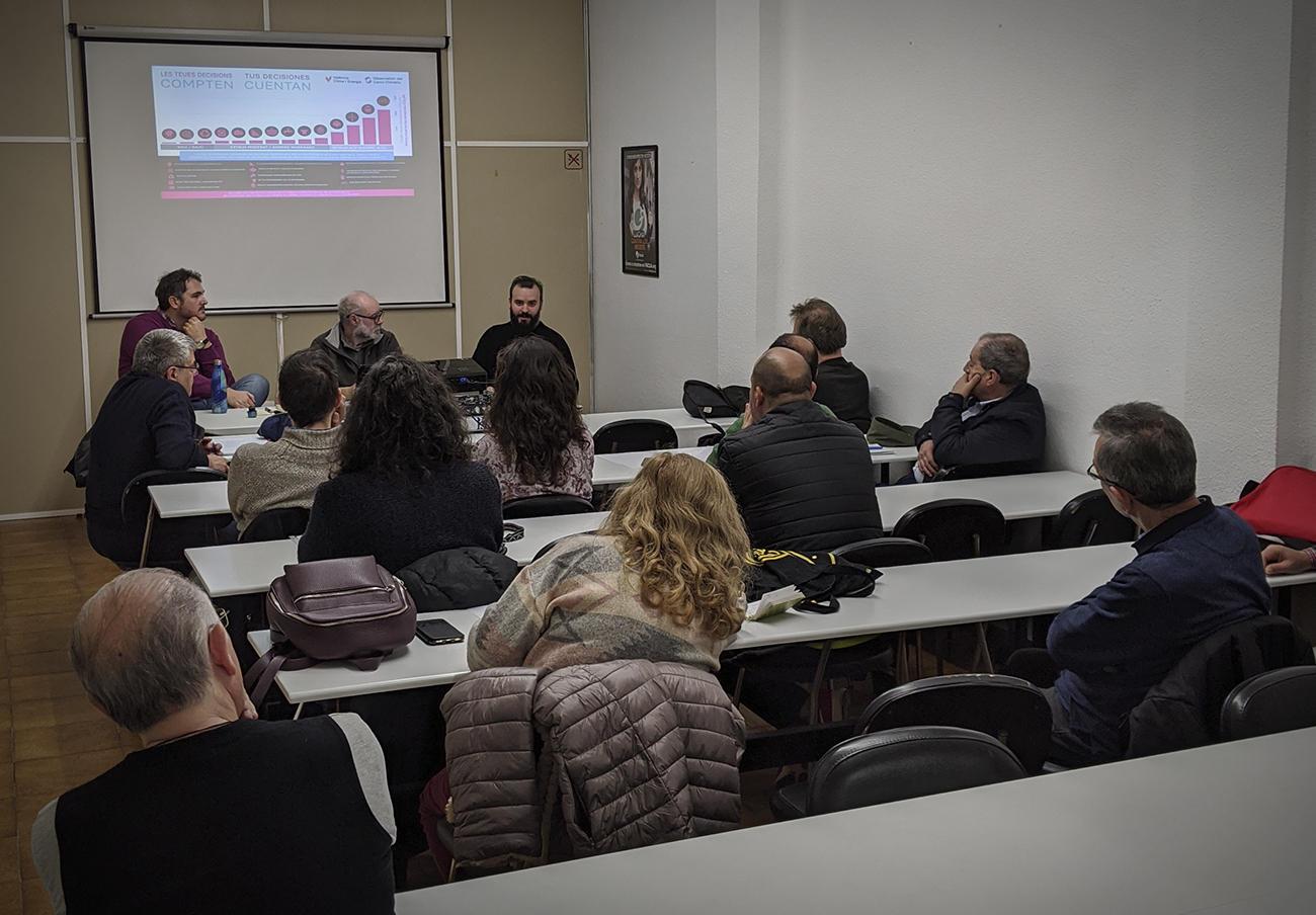 FACUA Comunidad Valenciana celebra una charla sobre cambio climático