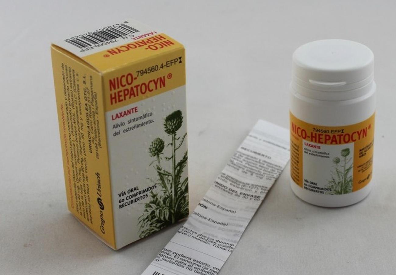 FACUA alerta de la orden de retirada de varios lotes del fármaco para el estreñimiento Nico-hepatocyn
