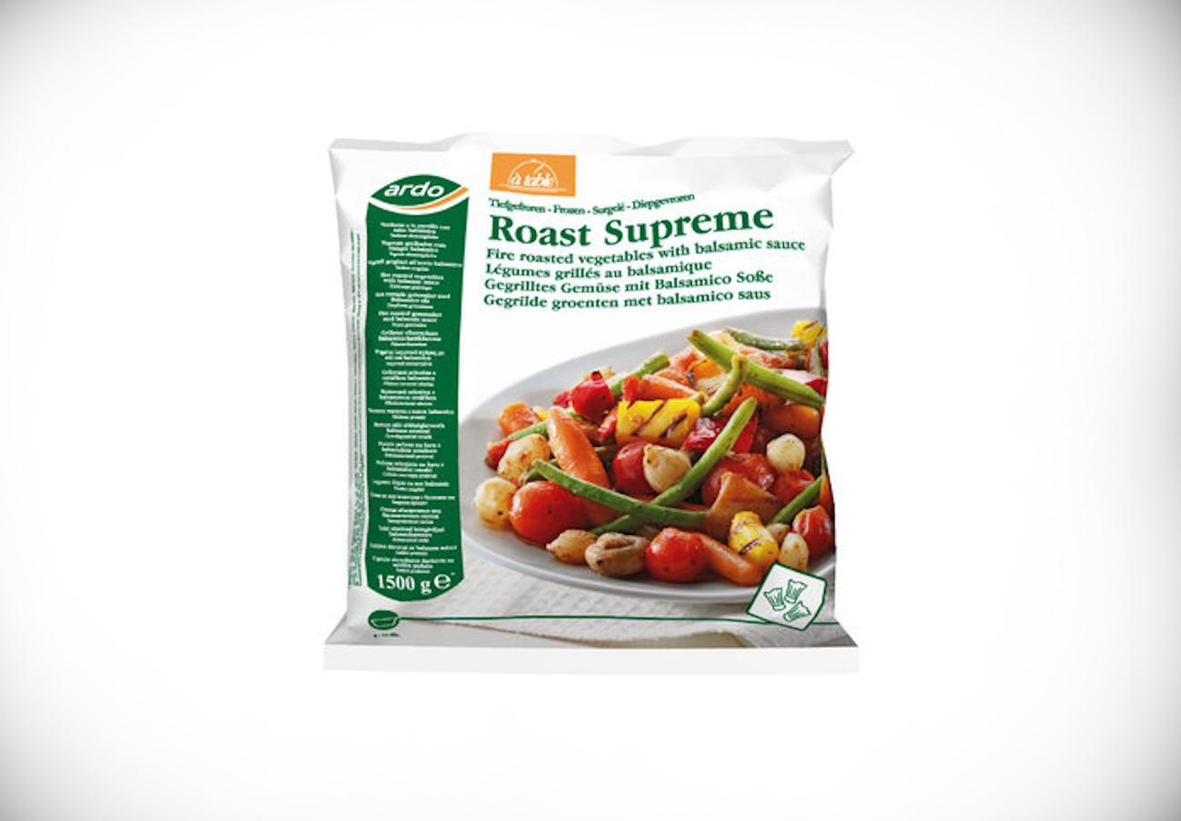 Sanidad alerta de la presencia de mostaza no declarada en verduras asadas congeladas de la marca Ardo