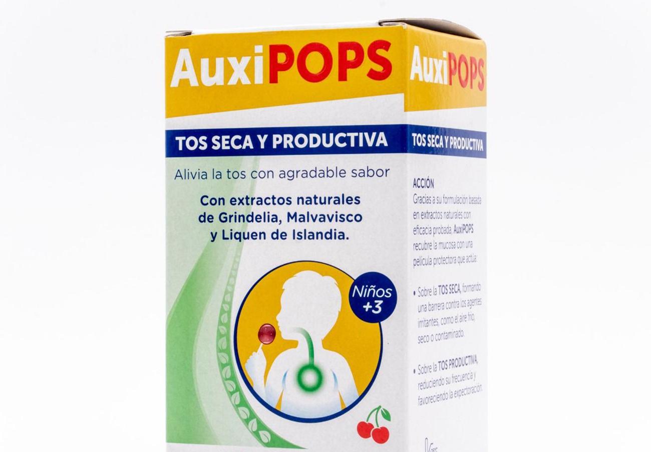 """Sanidad retira un lote de pastillas para la tos marca Auxipops por """"riesgo para la salud"""""""