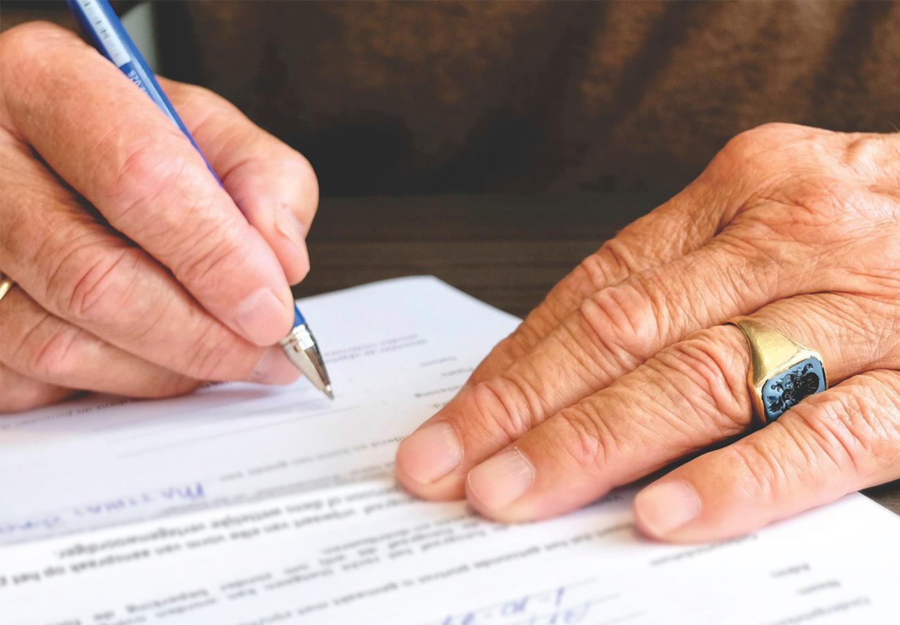 FACUA recuerda que puede realizarse testamento sin necesidad de notario en caso de epidemia
